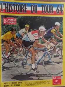 Tour 1964 et un coude coude c l bre au puy de d me un for Miroir du ciclisme