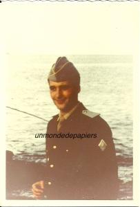 photo bernard goujon en militaire