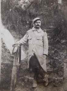 ADRIEN GUÉRIN RAPPELÉ EN 1914 À LA POMPELLE