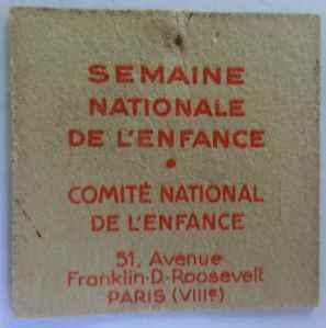 SEMAINE NATIONALE DE L'ENFANCE